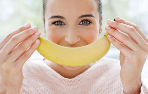 Banana peels contain nutrients that protect your eyes.