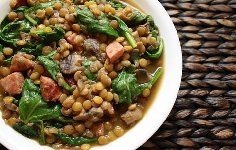 lentil soup for cancer prevention