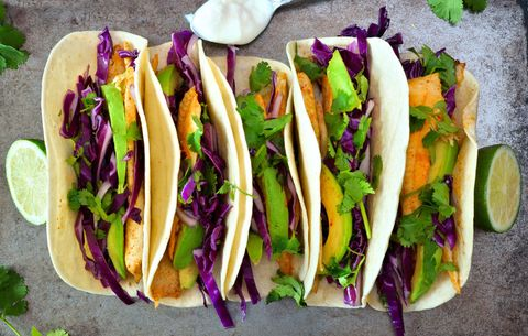 Fish tacos for cancer prevention