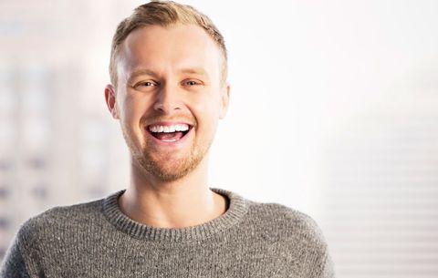 man with nice smile