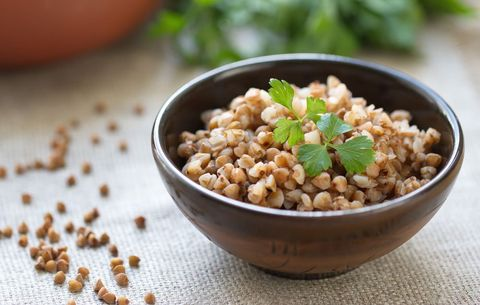 bowl of buckwheat groats