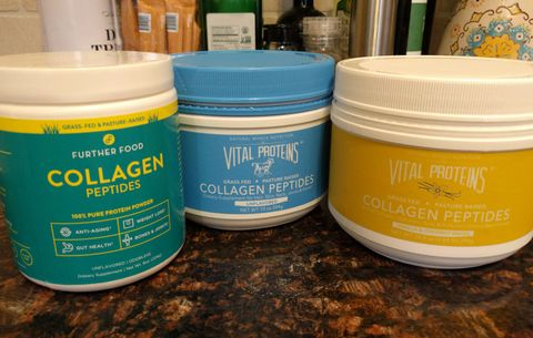 group of collagen supplements