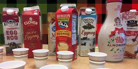 eggnog taste test