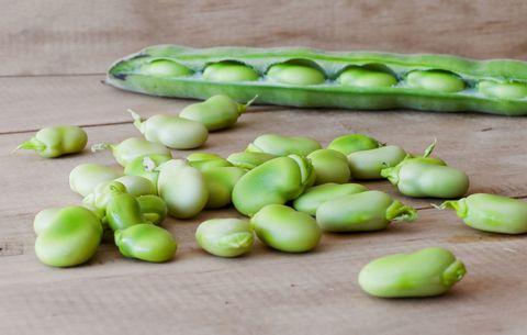 lima beans in high protein garden