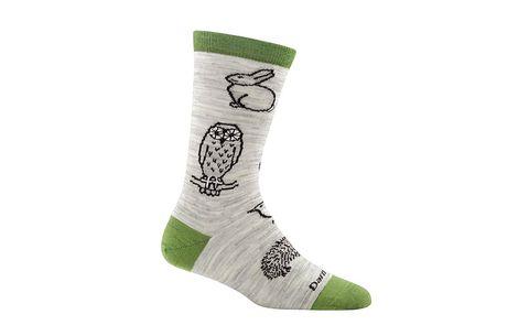 woodland creature socks