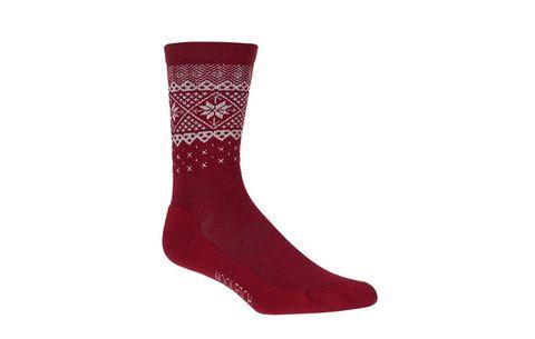 woolrich snowflake sock