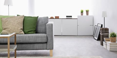 How to organize and declutter your living room