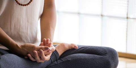 meditate to lose weight