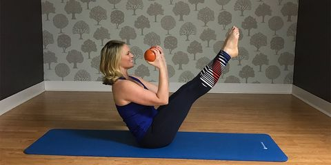 weighted core exercises for a flat belly