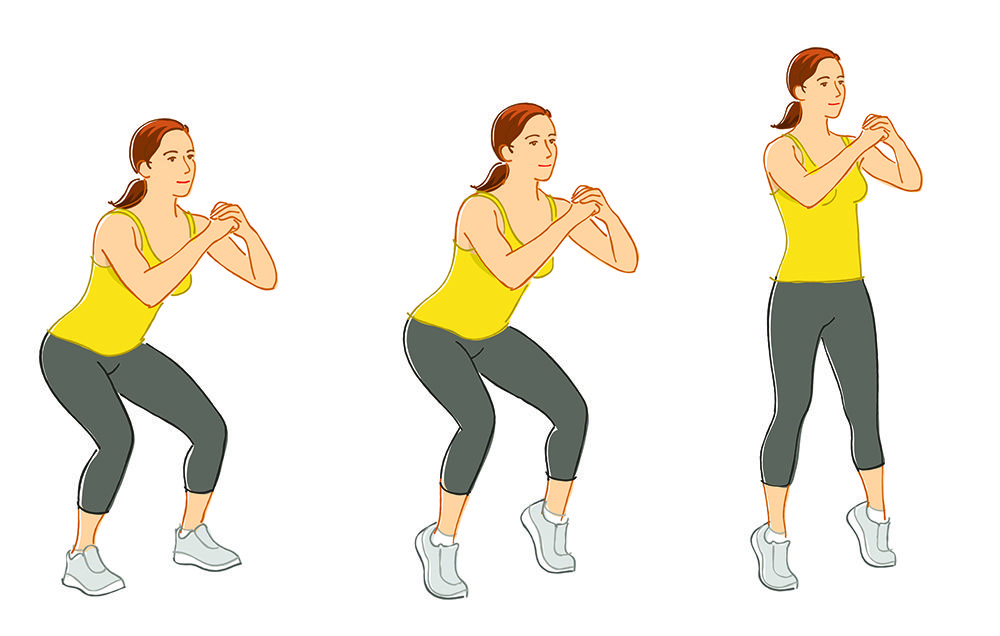 Tone Your Lower Body With The Tiptoe Squat Prevention