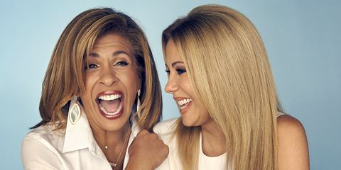 Kathie Lee and Hoda; love your age