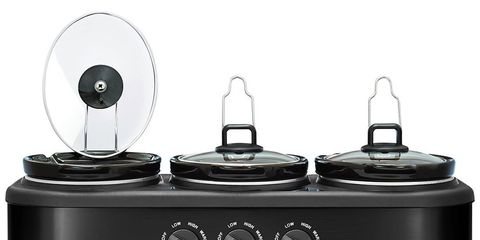 3 dish slow cooker