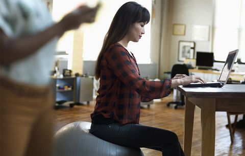 Should You Swap Your Chair For An Exercise Ball
