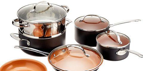 gotham steel pots on sale on Amazon