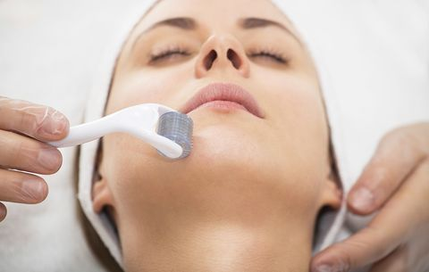I Tried Microneedling At Home To Reduce Fine Lines And