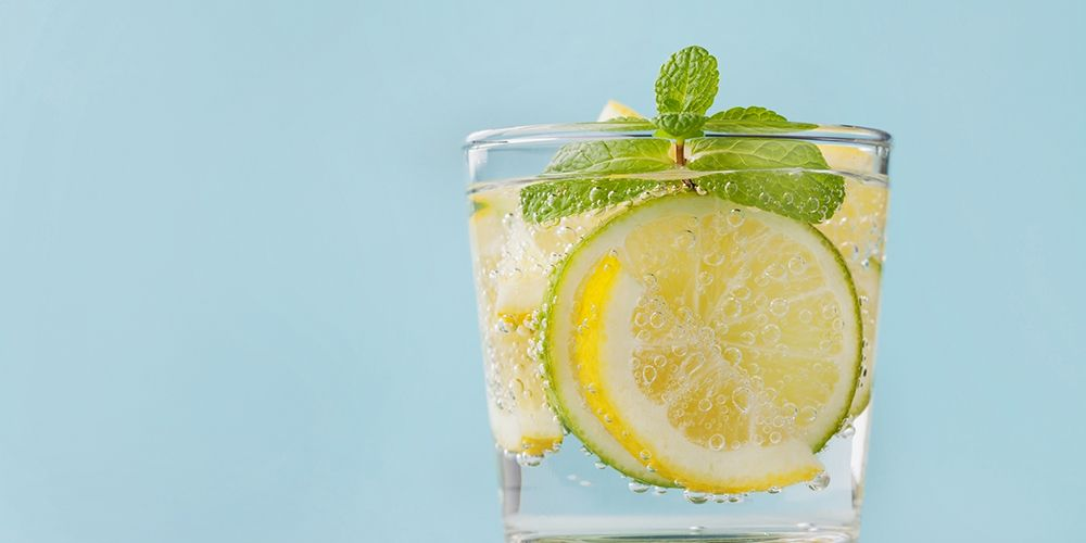 does lemon water burn fat