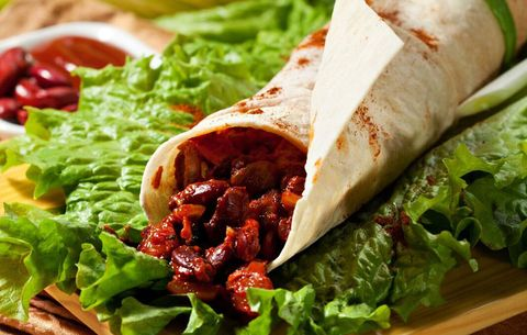 Jillian Michaels recipes, BBQ chicken burrito