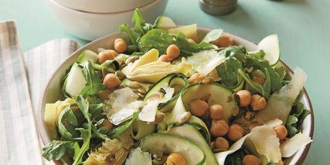 Arugula Salad with Zucchini Ribbons