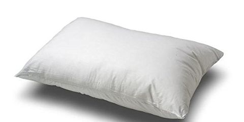 Continental Bedding Premium 100% White Goose Down Medium Firm Pillow