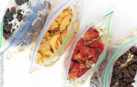 homemade instant oatmeal bags