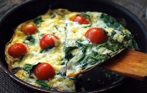 Jillian Michaels recipes, Feta frittata