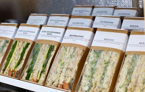 premade sandwich