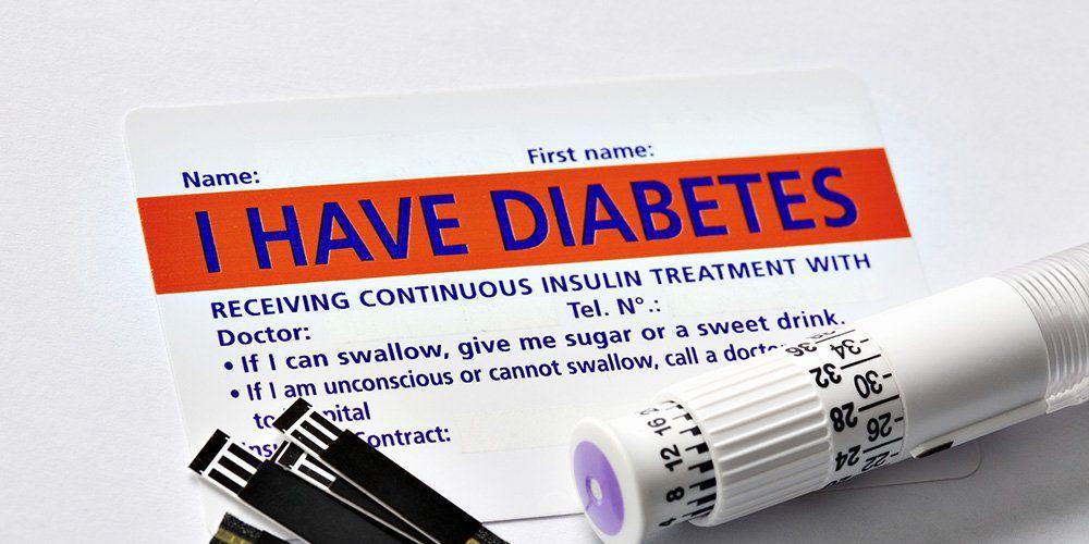diabetes card