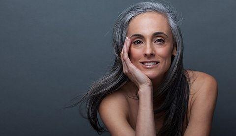 make gray hair look gorgeous
