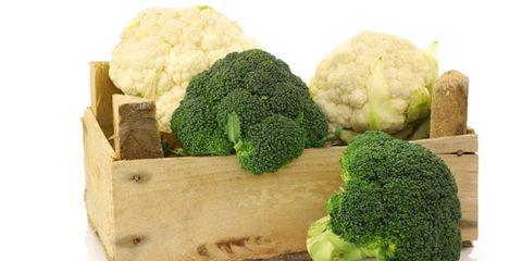 broccoli nutrition versus cauliflower nutrition; broccoli and cauliflower