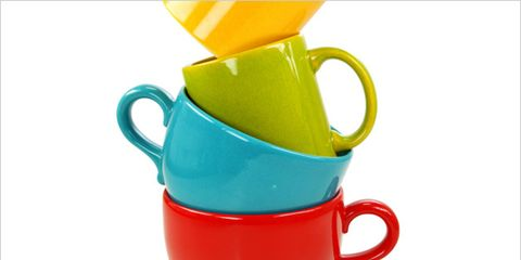 melamine in dishes linked to health problems; stack of dishes
