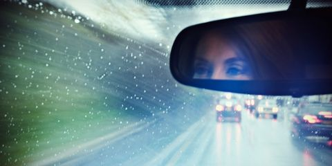 Automotive mirror, Mode of transport, Road, Automotive design, Glass, Automotive side-view mirror, Rear-view mirror, Mirror, Tints and shades, Reflection,