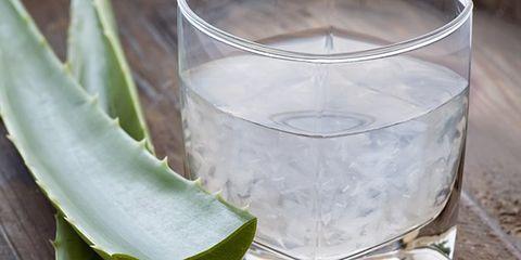 aloe juice for healthy glowing skin