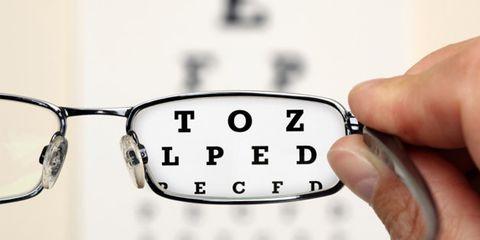 at-home eye tests; vision exam