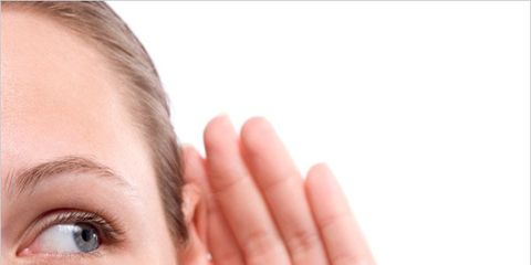 red wine might help hearing; woman's ears