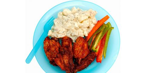 Food, Dishware, Tableware, Cuisine, Fried food, Plate, Recipe, Chicken meat, Dish, Meat,
