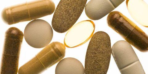 vitamins relieve stress; array of vitamins