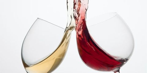 alcohol can ruin marriages; two glasses of wine