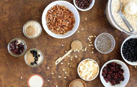 chia and flaxseed instant oatmeal