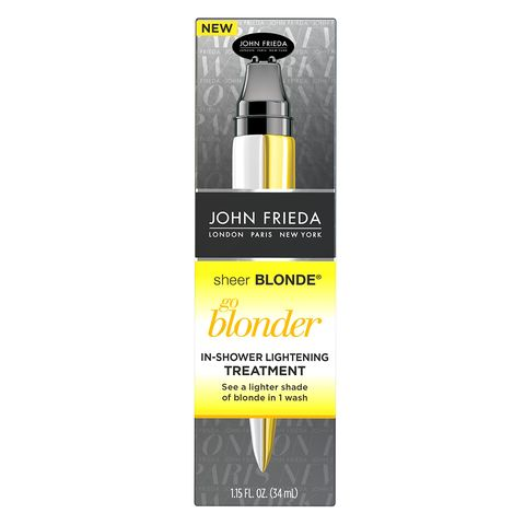 Hair tinting products with no dye, John Frieda Hair Care Sheer Blonde Go Blonder In-Shower Treatment