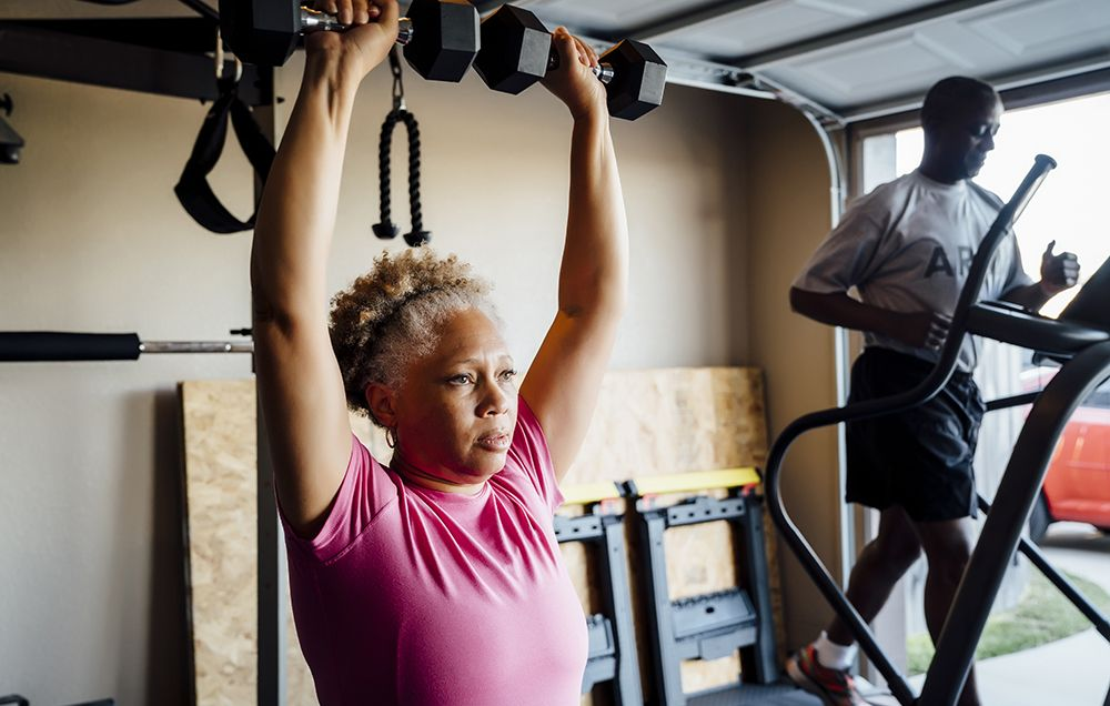 Home gym equipment on sale prevention