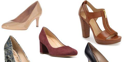 stylish heels that won't kill your feet