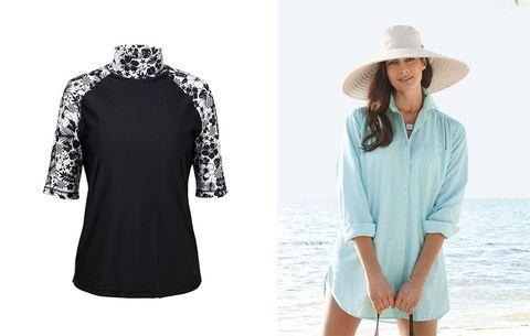 bd992fb0f4 sun protective clothing. UV Skinz and Sun Precautions