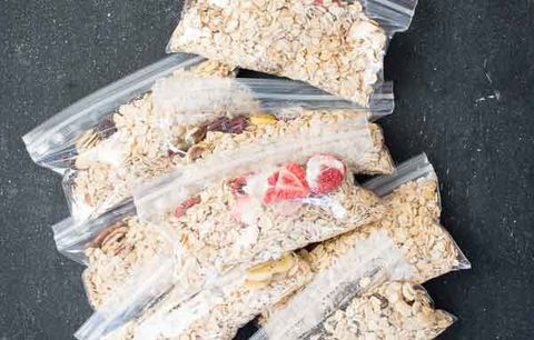 instant oatmeal bags