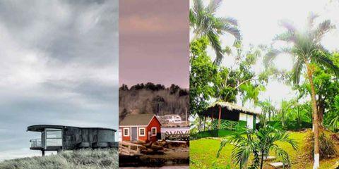 beach homes instagram