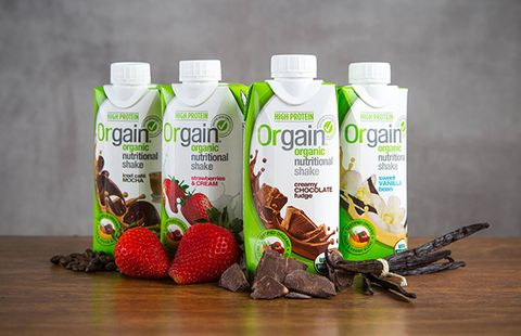 best meal replacement shakes: orgain organic nutritional shake