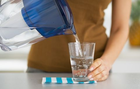Hydrate with filtered water