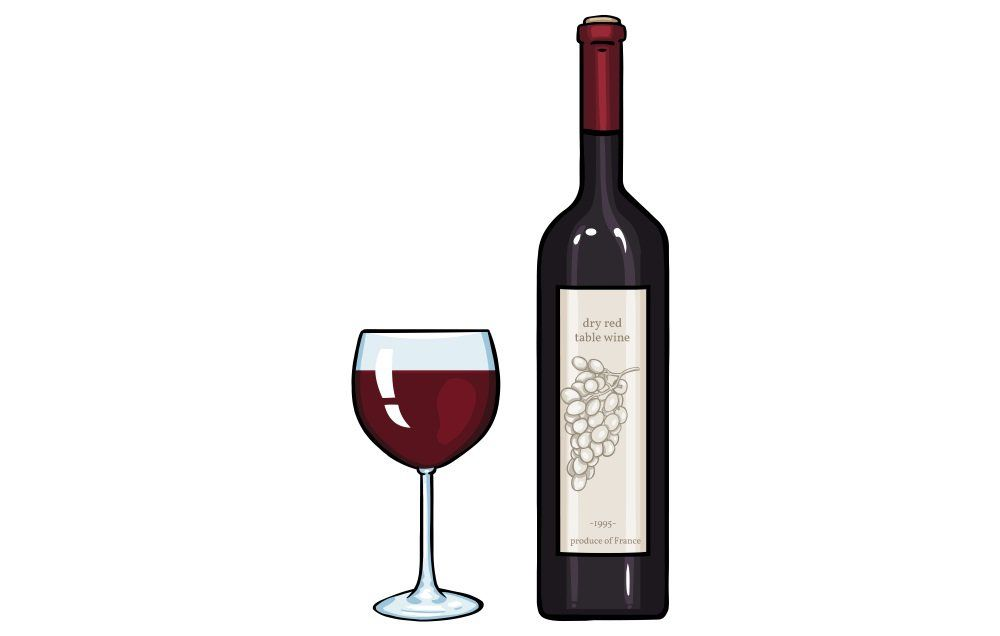 Why does red wine cause hot flashes