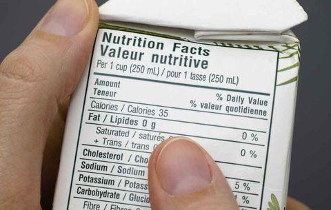 decode food labels