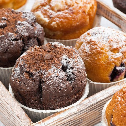 Reduced-fat muffins