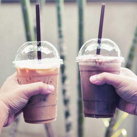 Skinny coffee drinks